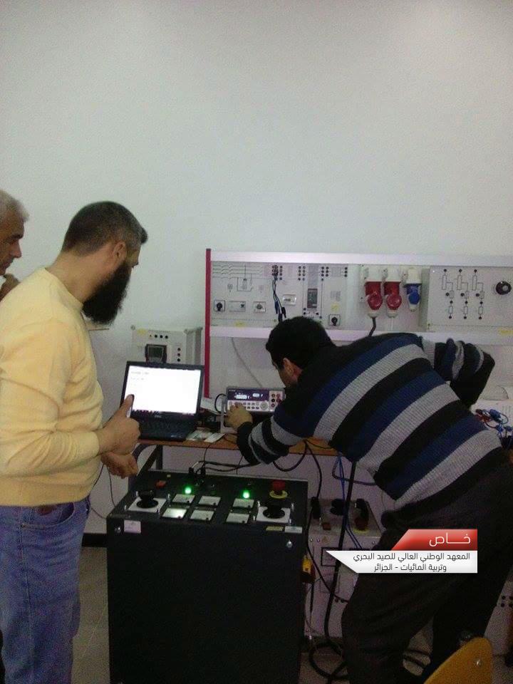nouveau atelier Électricité Électrotechnique et Électronique