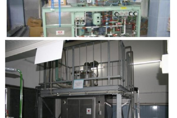 Le Simulateur froid et production de glaces