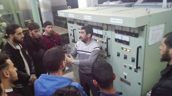 تربص تطبيقي للطلبة المرسى المعهد بالجزائر العاصمة