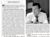 Le directeur de l'INSPA interview avec le journal «Sud Horizon»