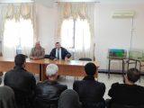 زيارة ميدانية لمدير المعهد للملحقة بالمرسى